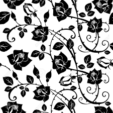 Rose Pattern Amazing Seamless Floral Rose Pattern Royalty Free Cliparts Vectors And