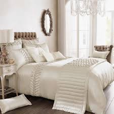 elegant bedding for your bedroom ideas bedroom decorating ideas features ivory satin patterned