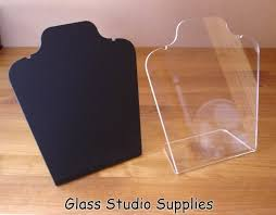 Acrylic Necklace Display Stands Beauteous Large Acrylic Necklace Display Stand Glass Studio Supplies