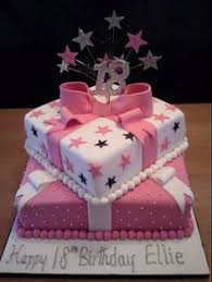 49 Best 18th Birthday Cake For Girls Images Fondant Cakes