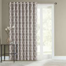 Image of: Sliding Door Curtains Idea