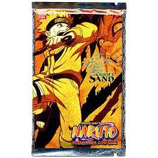 Sand Card Naruto Card Game Curse Of The Sand Booster Pack Walmart Com