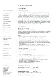 Executive Chef Resume Template New Executive Chef Resume Template Chef Resume Template Executive Chef