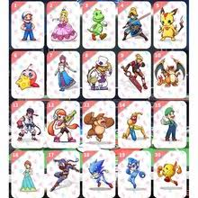 24 шт. zelda <b>Breathing</b> of the Wild amiibo card zelda Link ...