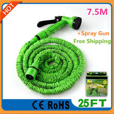 best magic hose 25 ft 7 5m flexible garden water hoses soft water hose expandable pipe with 7 in 1 spray for yard watering