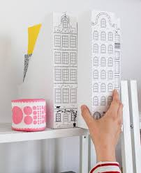 Cute Magazine Holders New DIY Magazine Holder Disguised With Cityscape Cute For Kids Room