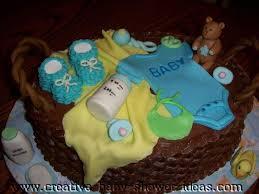12 Unique Baby Shower Cakes Designs Photo Baby Shower Cake Basket