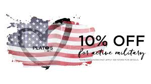 active military enjoy 10 off their purchase at plato s closet cherry creek