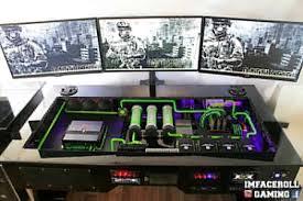case mod friday ultimate custom desk pc