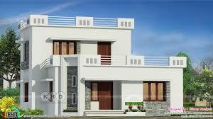 Kerala Flat Roof House Design 1444 Sq Ft Flat Roof 3 Bedroom Home Kerala Home Design