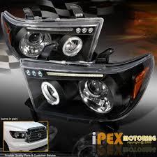 Тюнинг Toyota Sequoia 08- <b>Передняя оптика</b> HALO <b>LED</b> - AGS ...
