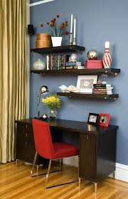 desk top shelf ikea uk floating shelves above home office contemporary with dark wood wall units interesting vibrant ideas