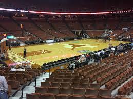 Frank Erwin Center Section 47 Texas Basketball