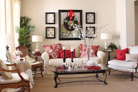Xmas Decoration For Living Room Admirable Living Room Christmas Decorating White And Purple
