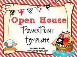 Open House Powerpoint Pirate Open House Powerpoint Pre K Pages