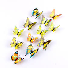 12pcs/lot Xmas Refrigerator Magnet Butterflies Sticker DIY Butterfly Wall  Stickers Mariposas Christmas Home Decoration-in Wall Stickers from Home &  Garden ...