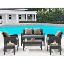 space saving patio furniture. Hanover Outdoor Chelsea 6-Piece Space-Saving Patio Set Space Saving Furniture I