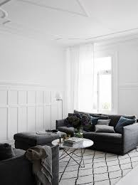 white bedroom with dark furniture. White Walls, Dark Furniture, Wool Carpet Bedroom With Furniture L
