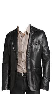 home men leather blazers silver studded mens leather blazer