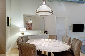 white saarinen oval dining table