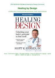Healing Design Book R E A D Book Healing By Design Ebook