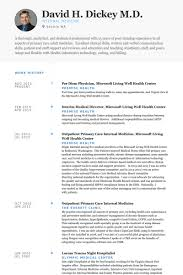 Physician Resume Examples Examples Of Resumes