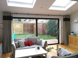 curtain ideas for bifold doors google search more