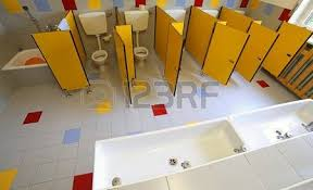 preschool bathroom sink. Small Ceramic Toilets And Sinks In The Bathroom Of Kindergarten Photo Preschool Sink