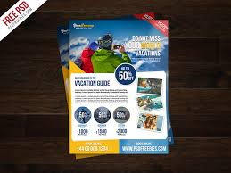 Freebie Travel Tour And Vacation Flyer Free Psd By Psd