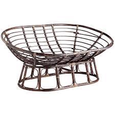 papasan double taupe chair frame