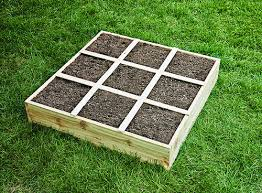 build a garden.  Garden How To Build A Square Foot Garden Box With Kids Follow These Plans For  Beginners And A R