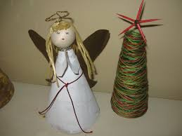 Pin By Sandy Keltie On Christmas Decorations Made From Recycled Christmas Crafts Recycled Materials