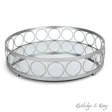 Round silver tray for coffee table rascalartsnyc. Rutledge King Ottoman Tray Silver Mirror Tray Decorative Round Metal Tray Ornate Coffee Table Tray Serving Tray Chantilly Designer Tray Large Walmart Com Walmart Com