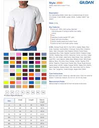 Gildan Youth Shirt Sizing Chart Rldm