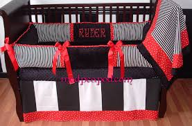 bailey red baby bedding red and black crib set 16740 bedroom cots bedroom cute designs