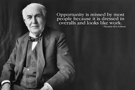 Onebuy Thomas Alva Edison Famous Quote Hd Wall Poster Fine Art Print