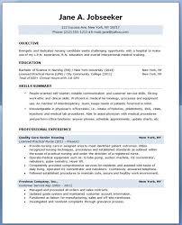 Lpn Sample Resume Inspiration Sample Student Nurse Resumes
