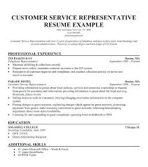 Resume Summary Examples For Customer Service Best Customer Service Representative Resume Examples Here Are Skills