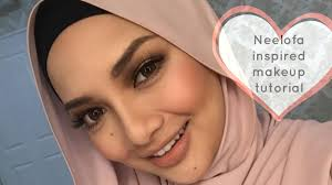 neelofa inspired makeup tutorial