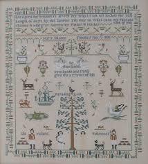 Mary Johnson 1806 Cross Stitch Chart