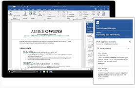 Resume Posting Sites Impressive Microsoft Office 48 Users To Get LinkedInpowered Resume Assistant