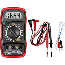 tis 258 digital multimeter with
