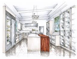 bathroom interior design sketches. Drawn Kitchen Rendered #9 Bathroom Interior Design Sketches
