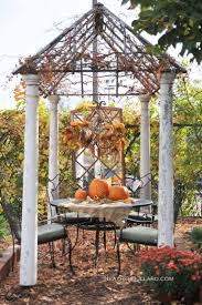 Outside Fall Decor 80 Best Fall Outdoor Decor Images On Pinterest Fall Home And Crafts