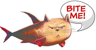 Image result for catch a catfish cartoon pics