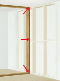 framing an interior wall. Secure New Stud Frame Between Existing Wall Studs Framing An Interior