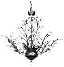 antler chandelier with crystals 4 light crystal chandelier modern and contemporary