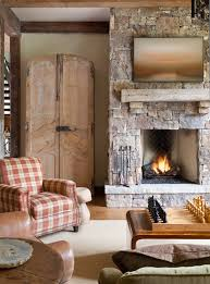 reclaimed wood mantel stone fireplace solid wood mantel rustic living room