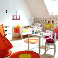 ikea playroom furniture. Toddler Bedroom Ideas A Colourful Room With White Bed Made Quilt Cover Ikea Baby Furniture Playroom