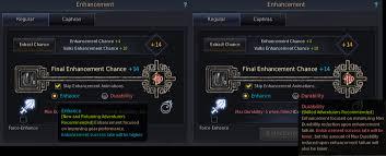 Black Desert Online Enhancement Guide All Patch Notes
